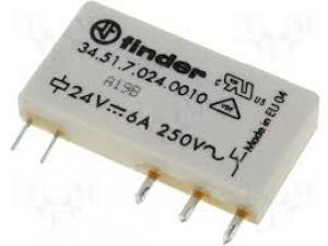 Relé 24VDC 6A